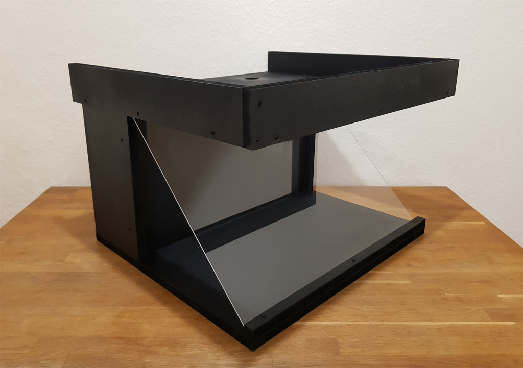 Pictyre of the table top holoviewer